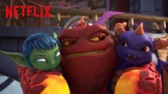 Netflix comparte un nuevo tráiler de 'Skylanders Academy'