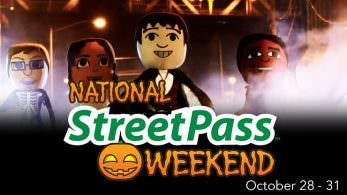 Un nuevo National StreetPass Weekend de Halloween llegará la próxima semana a América