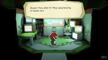 ¡Alerta spoiler! Gameplay de una familiar fase de 'Paper Mario: Color Splash'
