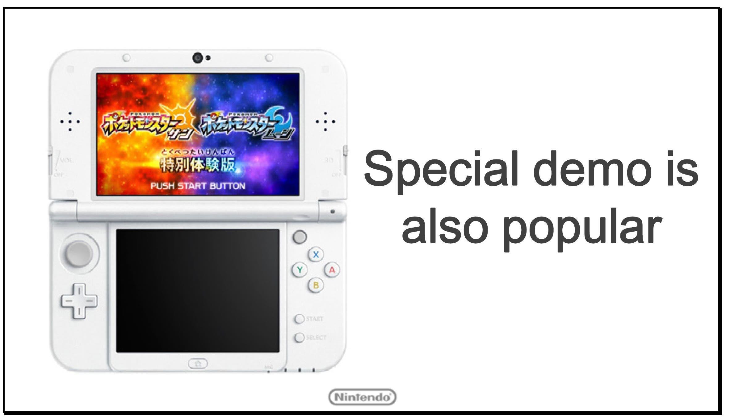 La demo de 'Pokémon Sol y Luna' alcanza los 3,5 millones de descargas en una semana