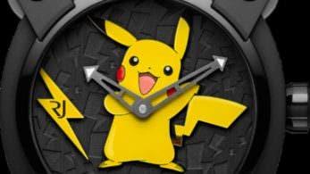 Aquí tenéis el que podría ser el artículo de merchandising 'Pokémon' más caro del mundo: ¡un reloj de 20.000$!