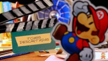 Este divertido vídeo stop-motion nos muestra las tomas descartadas de 'Paper Mario: Color Splash'
