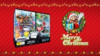 Australia recibe este pack de Wii U con 'Mario Kart 8' y 'Super Smash Bros.' por Navidad