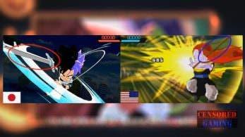 La versión occidental de 'Dragon Ball Fusions' censura todos los ataques con espadas