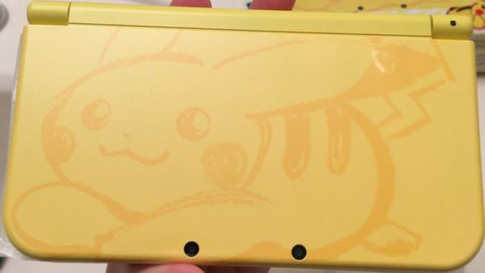 Primeras fotos de la New 3DS XL Pikachu Yellow Edition