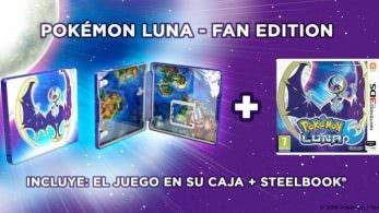 Unboxing de la Fan Edition europea de 'Pokémon Luna'