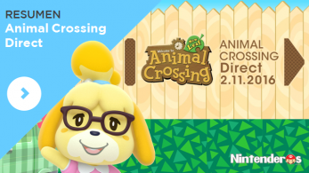 Resumen de todo lo confirmado en el Animal Crossing Direct (2/11/16)