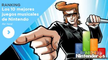 [Ranking] Los 10 mejores juegos musicales de Nintendo