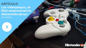 [Artículo] Los videojuegos, un filón empresarial sin demasiado apoyo