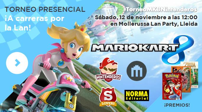 Torneo 'Mario Kart 8' | ¡A carreras por la Lan! MLP