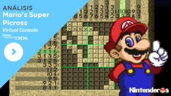[Análisis] 'Mario's Super Picross' (CV de New 3DS)
