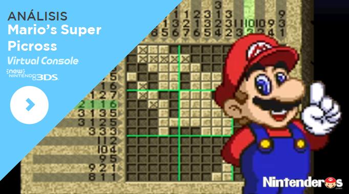 [Análisis] 'Mario's Super Picross' (CV de New 3DS)