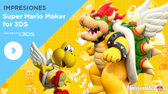 [Impresiones] 'Super Mario Maker for Nintendo 3DS'