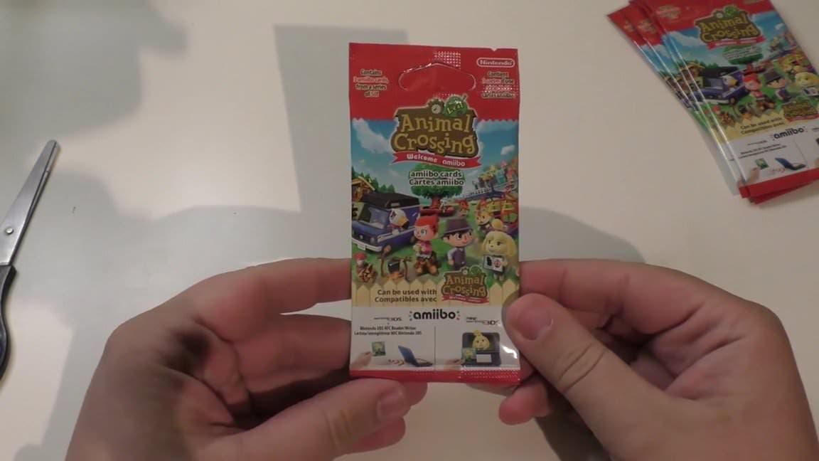 [Act.] Unboxing de las tarjetas amiibo de 'Animal Crossing: New Leaf – Welcome amiibo'