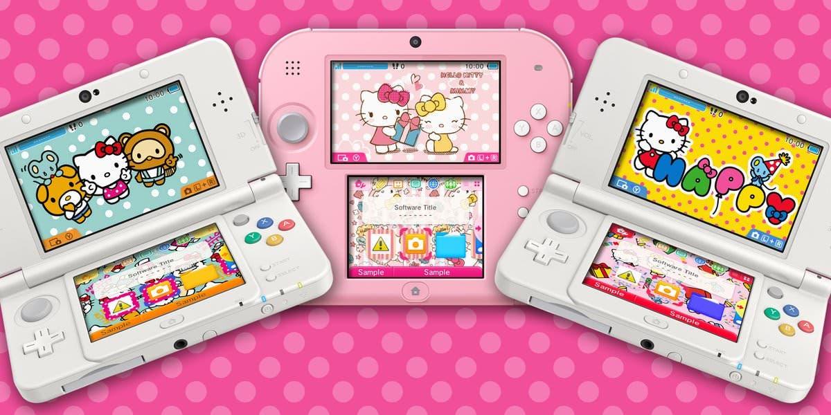 Los temas de Hello Kitty llegan a Nintendo 3DS