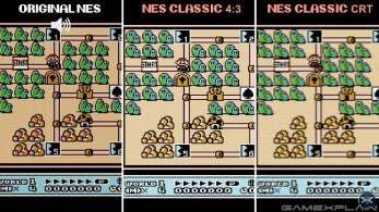 Vídeo comparativo: NES original vs. Nintendo Classic Mini: NES