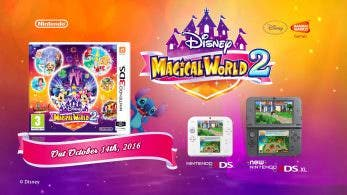 Novedades de 'Disney Magical World 2' y 'Shin Minna no Nurie' en Japón