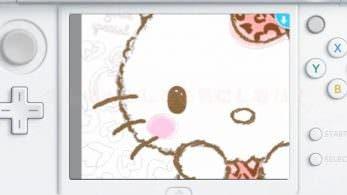 'Shin Minna no Nurie Hello Kitty' llegará el 30 de noviembre a la eShop de 3DS en Japón