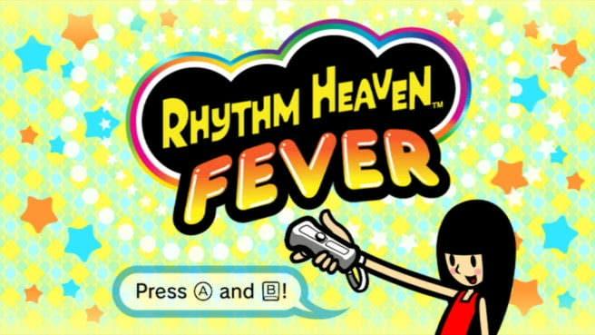 Gameplay de 20 minutos de 'Rhythm Heaven Fever' ejecutado desde la CV de Wii U