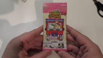 Unboxing de las tarjetas amiibo 'Sanrio x Animal Crossing'