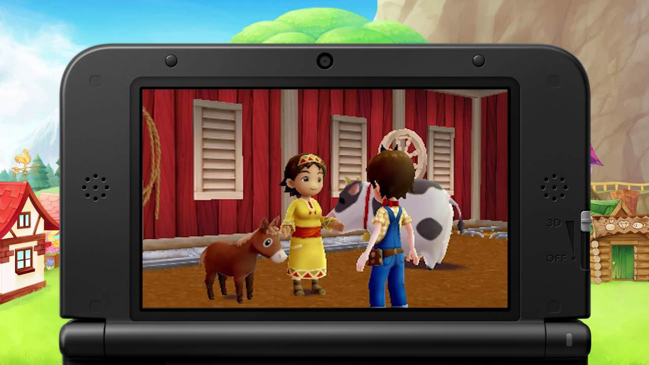 Nuevo gamplay de 'Harvest Moon: Skytree Village'