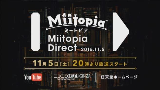 'Miitopia' llegará el 8 de diciembre a Japón, Miitopia Direct anunciado para el 5 de noviembre