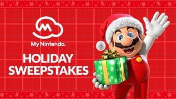 La promoción Holiday Sweepstakes de Nintendo llega a Estados Unidos