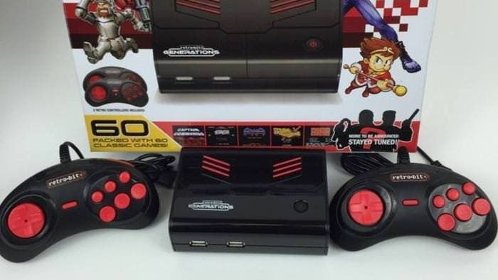 Así es Retro-Bit Generations, una nueva competidora de Nintendo Classic Mini: NES