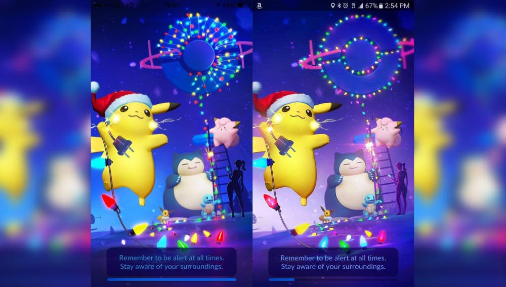 ¿A qué se debe el cambio de la portada navideña de 'Pokémon GO'?