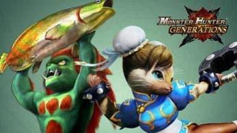 Ya disponible el DLC gratuito de diciembre de 'Monster Hunter Generations'