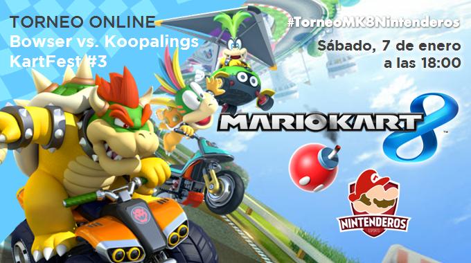 Torneo 'Mario Kart 8' | Bowser vs. Koopalings | KartFest #3