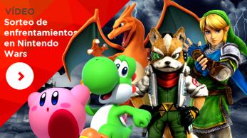 ¡Aquí tenéis el sorteo de enfrentamientos en Nintendo Wars!