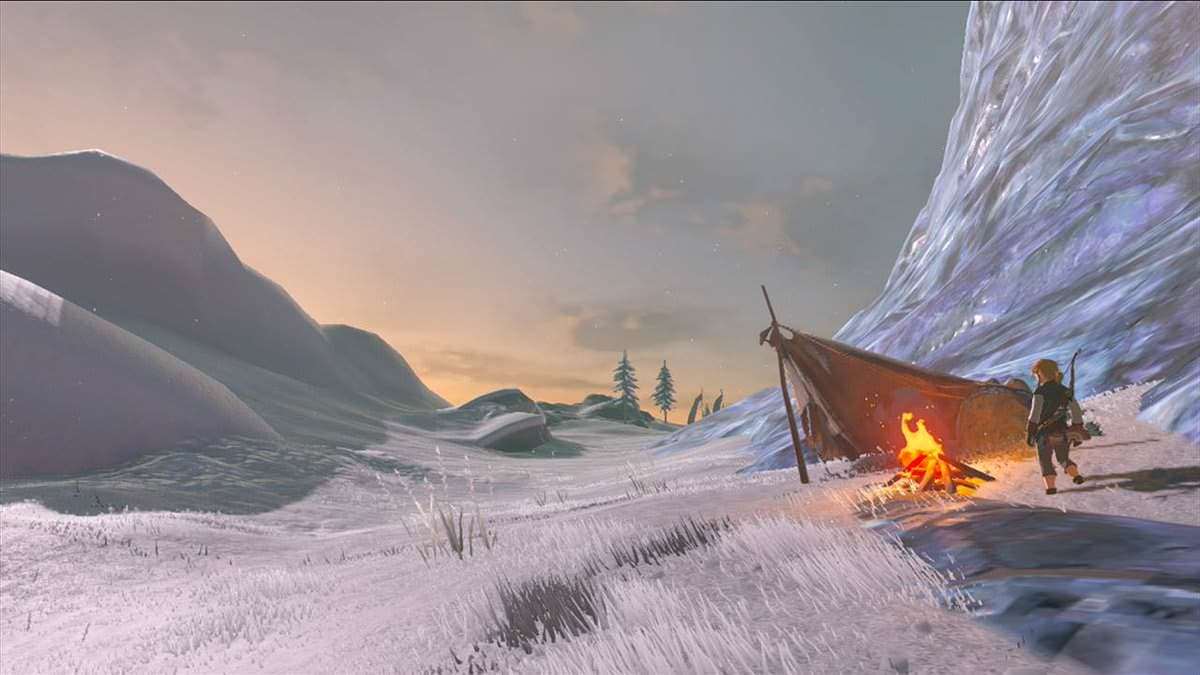 Así luce la última captura compartida de 'The Legend of Zelda: Breath of the Wild' (22/12/16)