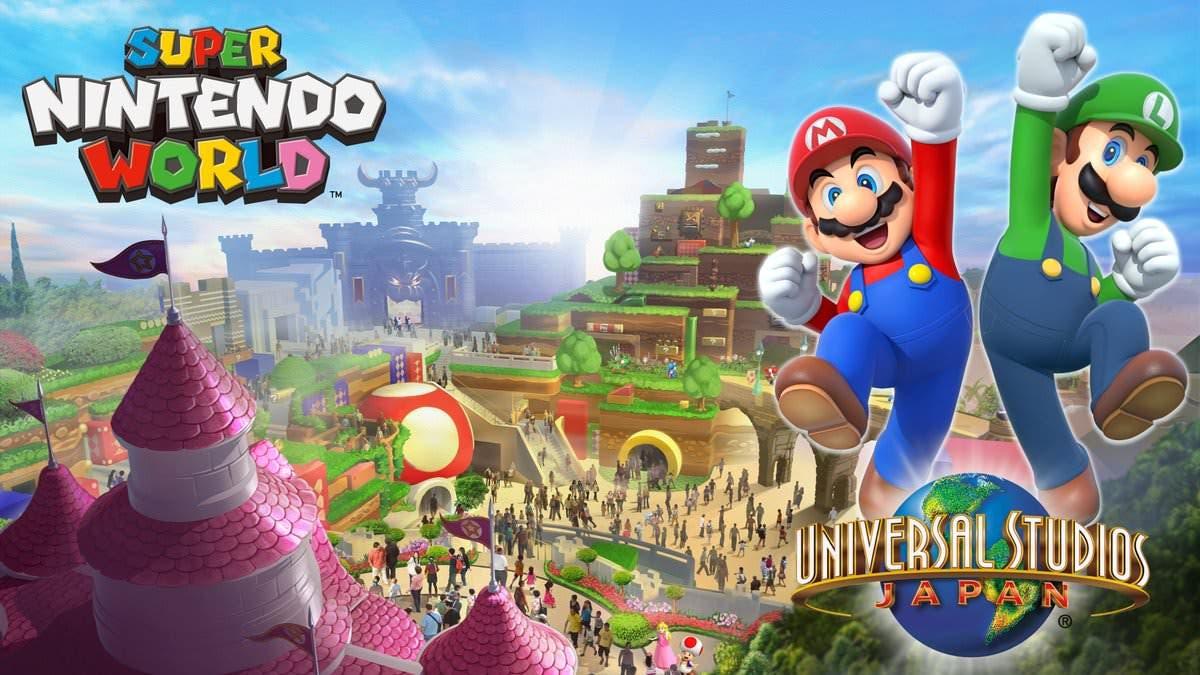 """Nintendo ya ha registrado la marca de parque temático """"Super Nintendo World"""" en Estados Unidos"""