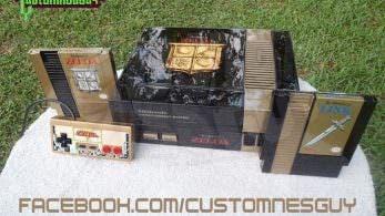 Echad un vistazo a estas espectaculares NES customizadas con sagas de Nintendo