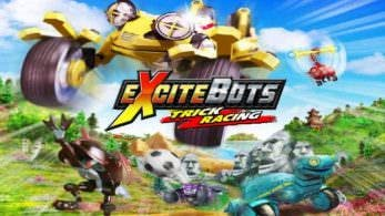Nintendo registra las marcas de Glory of Heracles y Excitebots: Trick Racing