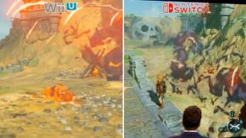 [Act.] Comparación del framerate en 'Zelda: Breath of the Wild': Wii U vs. Switch