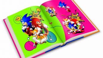 Se muestra el 'Sonic The Hedgehog 25th Anniversary Art Book'