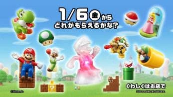 Primer comercial de los nuevos juguetes de Mario que llegarán a McDonald's en enero