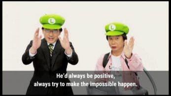 Miyamoto habla de las habilidades que admiraba de Satoru Iwata