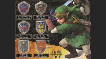 Este fabuloso set de pines de escudos de 'The Legend of Zelda' ya está disponible a través de NCSX