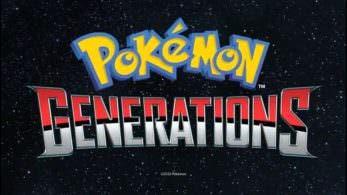 Los primeros seis episodios de 'Pokémon Generations' ya están disponibles en japonés