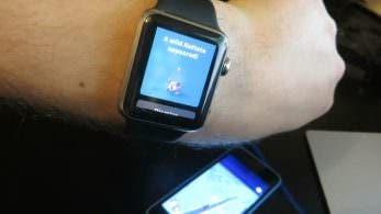 Así es como se juega a 'Pokémon GO' en Apple Watch