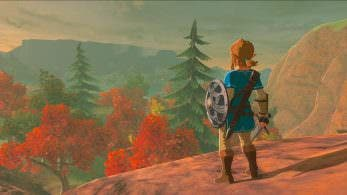Nintendo nos desea felices fiestas con un gameplay de 'Zelda: Breath of the Wild'