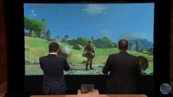The Tonight Show nos deja el primer gameplay de 'Zelda: Breath of the Wild' en Switch