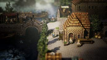 Ya disponible el sitio teaser de 'Project Octopath Traveler'