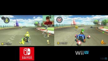 [Act.] Comparación y test de resolución de 'Mario Kart 8 Deluxe' vs. 'Mario Kart 8' y 'Splatoon 2' vs. 'Splatoon'