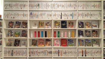 Así luce la colección completa de los 1.262 juegos físicos que ha recibido Wii