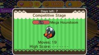 Novedades de la semana en 'Pokémon Shuffle': Mega Houndoom, Chikorita Cómplice y más