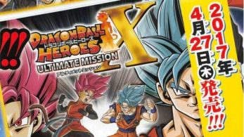 Anunciado 'Dragon Ball Heroes: Ultimate Mission X' para Nintendo 3DS